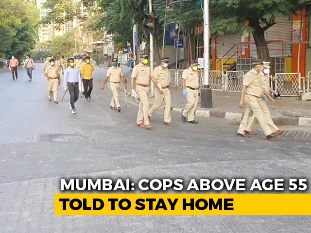 Video : Mumbai Cops Over 55 Told To Stay Home After 3 Colleagues Die Of COVID-19