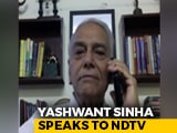 Video : Centre Must Control Hotspots Strictly: Yashwant Sinha To NDTV
