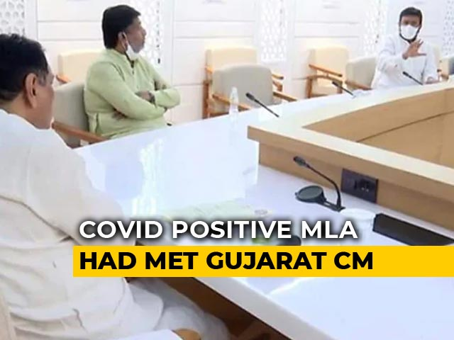 Video : Gujarat Chief Minister In Quarantine After Meeting Coronavirus +ve MLA