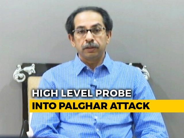 Video : On Mob-Killing Of Sadhus, Uddhav Thackeray's Assurance To Amit Shah