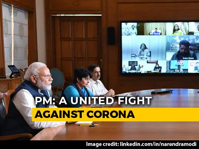 """Video : """"COVID-19 Does Not See Race, Religion, Caste Before Striking"""": PM Modi"""