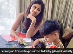 बेटे को घर में पढ़ाकर कुछ ऐसा हुआ शिल्पा शेट्टी का हाल, TikTok पर कुछ ही घंटों में वायरल हो गया Video