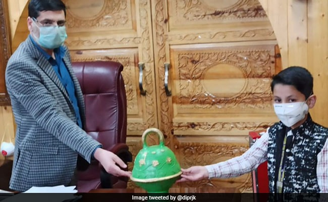 8-Year-Old In Jammu And Kashmir Donates Piggy Bank Savings To COVID-19 Fight
