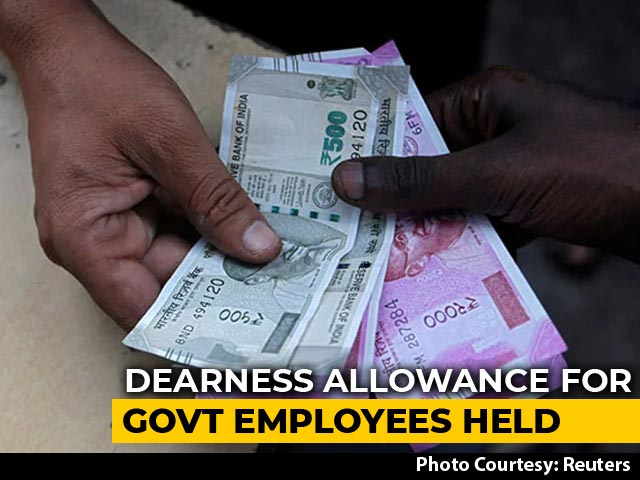 Video : Centre Pauses Dearness Allowance Hike Till July 2021, Saves 37,000 Crores