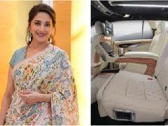 Actor Madhuri Dixit Nene Brings Home A Custom Toyota Innova Crysta By DC Design