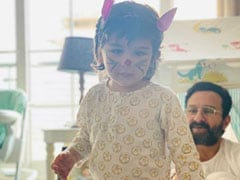 """My Easter Bunnies For Life"": Kareena Kapoor Shares Adorable Picture Of Saif Ali Khan And Taimur"