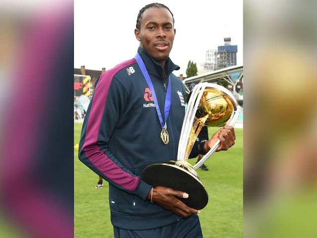 Jofra Archer Reveals He Has Lost His Cricket World Cup Winners Medal