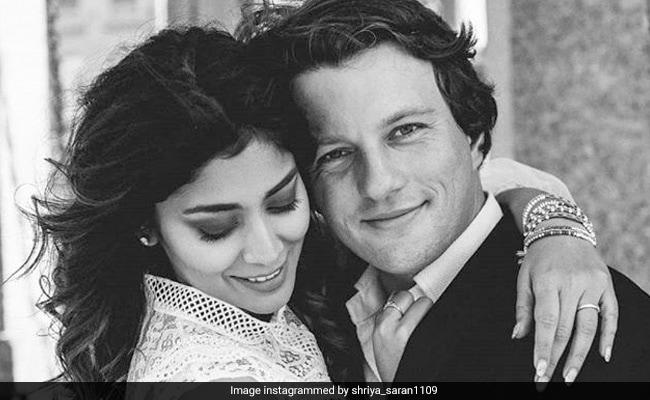 Shriya Saran's Birthday Wish For Her 'Heartbeat' Andrei Koscheev Is Too Cute To Miss