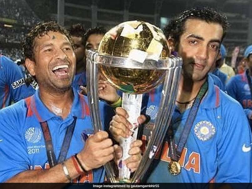 "Gautam Gambhir Annoyed With ""Obsession For A Six"", Says ""Entire Indian Team"" Won 2011 World Cup"