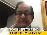 "Video : ""India Should Be Happy With 2-3% Growth This Year"": P Chidambaram"