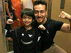 "What Happened When Viaan Raj Kundra Met His ""Idol"" Tiger Shroff"