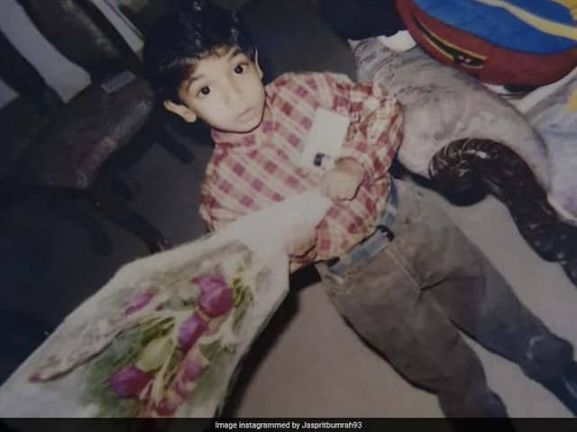 """""""Little Moments, Big Memories"""": Jasprit Bumrah Shares Childhood Picture In His Latest Tweet"""