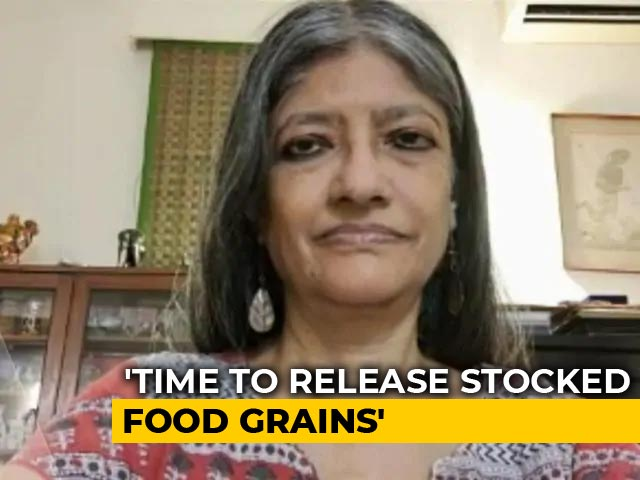Video: Food Grains Must Be Distributed Immediately: Economist Jayati Ghosh