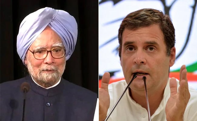 Manmohan Singh, Rahul Gandhi Slam Government On Zoom Call. What They Said