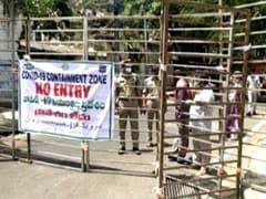 NDTV की आंखों देखी: ऊंचे बैरिकेड और आने-जाने का केवल एक प्वाइंट, ऐसी है हैदराबाद के कोरोना कन्टेनमेंट जोन में जिंदगी…