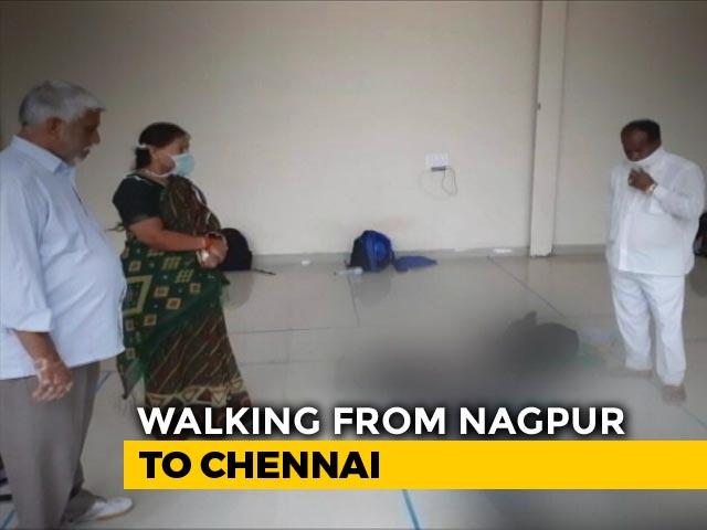 Video : Coronavirus - Tamil Nadu Man's 500-km Walk Amid Lockdown Becomes His Last