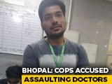 "Video : Bhopal Cops Accused Of Assaulting Doctors For ""Spreading Coronavirus"""