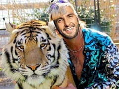 Ranveer Singh's Photoshopped Picture With A Tiger Will Leave You In Splits