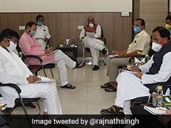 Rajnath Singh Chairs COVID Meet As Centre Preps For Lockdown Relaxations