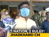 "Video : ""One Nation, 2 Rules"": Jharkhand Chief Minister Dials PM Over Kota Students' Return"