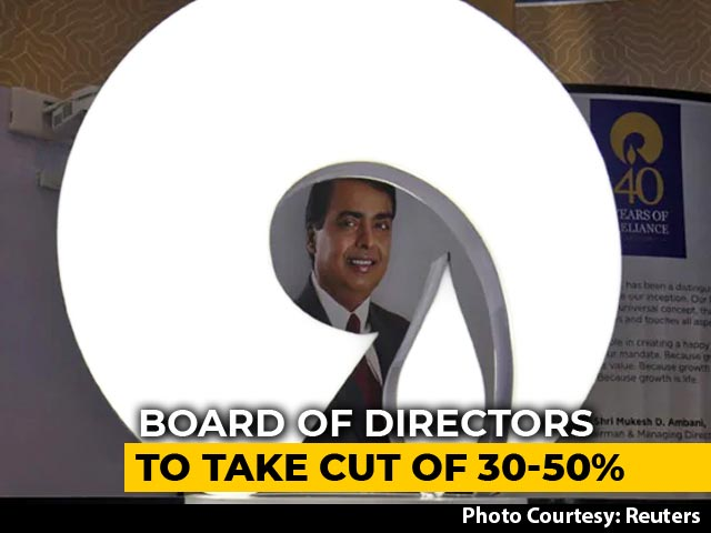 Video : Reliance Industries Announces Pay Cuts, Mukesh Ambani To Forego Entire Salary