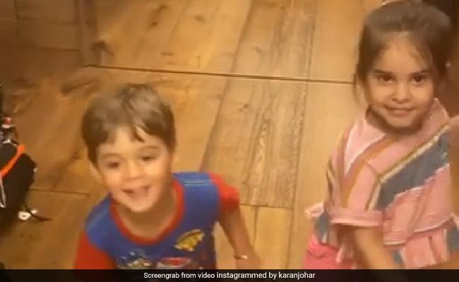 "In Today's ""Toodles"" Video, Yash And Roohi Review Karan Johar's Dancing thumbnail"