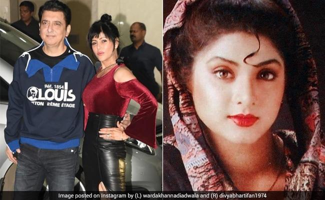 """""""Not Tried To Replace"""" Divya Bharti, Says Sajid Nadiadwala's Wife"""