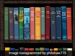 This Viral Pic Of A Bookshelf Has A Message On Coronavirus. See It?