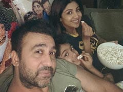 Shilpa Shetty's Friday Night Done Right With Husband Raj Kundra And Son Viaan. See Pic