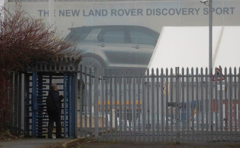 Jaguar Land Rover's Halewood Plant in Liverpool, UK
