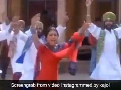 काजोल के इंस्टाग्राम पर हुए 1 करोड़ फॉलोवर्स, तो खुशी में यूं झूमकर नाचीं, वायरल हुआ Video