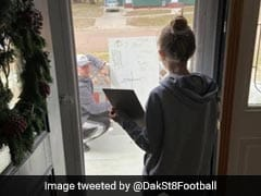 Math Teacher Helps Student Through Glass Door, Wins Praise