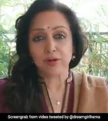 हेमा मालिनी की तबियत बिगड़ने की आई खबर, तो एक्ट्रेस ने Video शेयर कर दी ये जानकारी