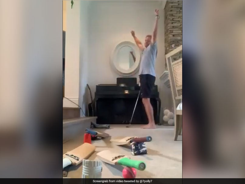 Watch: Shaun Pollock Steals Scottish Cricketers Thunder With Incredible Trick Shot