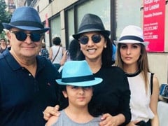 """""""Remember Rishi Kapoor With A Smile, Not Tears,"""" Say Actor's Family"""