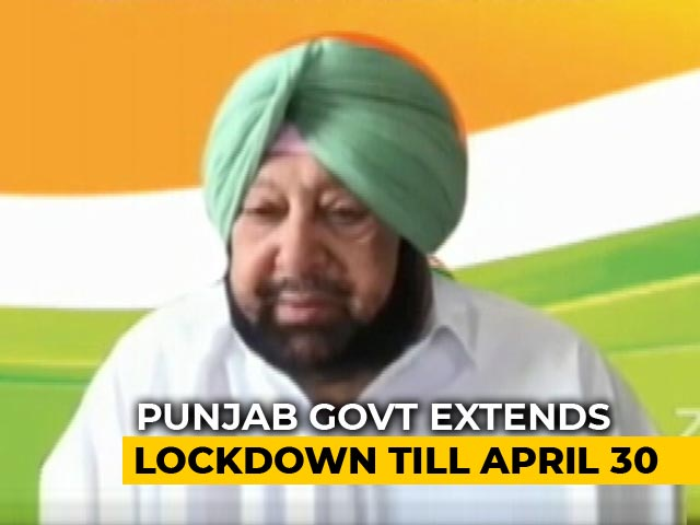 Video : Punjab Becomes Second State To Extend COVID-19 Lockdown Till April 30