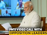Video : PM Modi's All-Party Meet Via Video-Con As Government Decides On Lockdown