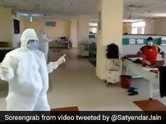 "Coronavirus - Watch: Patients Clap During ""Happiness Therapy"" In Delhi's COVID-19 Ward"