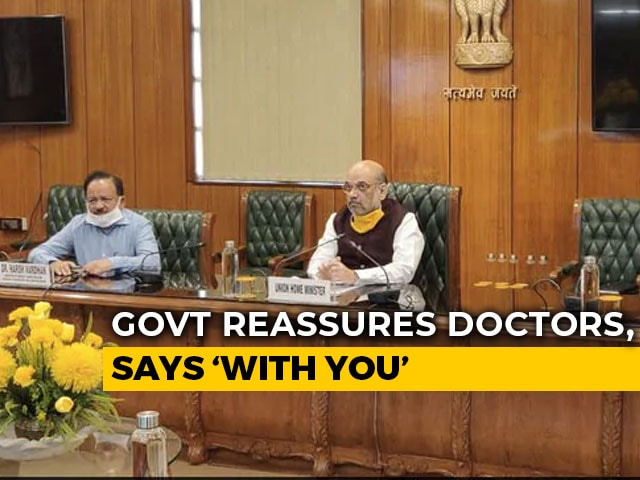 Video : Doctors Withdraw Symbolic Protest Over Attacks After Amit Shah Assurance