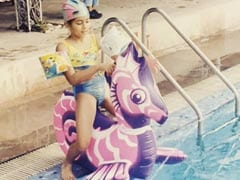 "This ""Trendy"" Kid Playing In A Pool Is A Star Wife Now. Make A <I>Shaandaar</i> Guess"