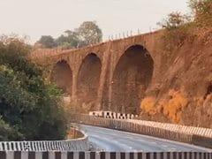 190-Year-Old Amrutanjan Bridge On Mumbai-Pune Expressway Demolished