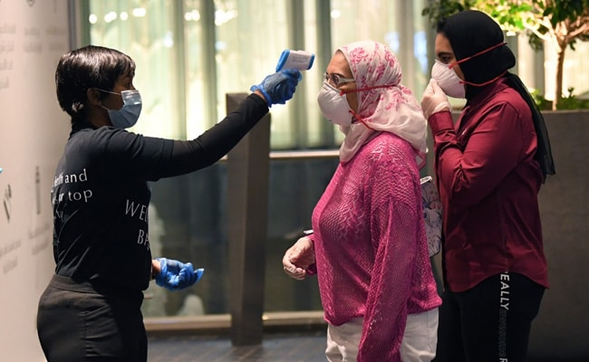With Fever Checks And Masks, World's Largest Mall In Dubai Reopens