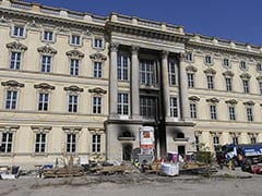 Fire At Building Site Of Berlin Royal Palace, One Injured
