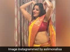 Bhojpuri Dance Video: मोनालिसा ने 'गेंदा फूल' सॉन्ग पर कुछ इस अंदाज में किया डांस, हैरान रह गए पति- देखें Video