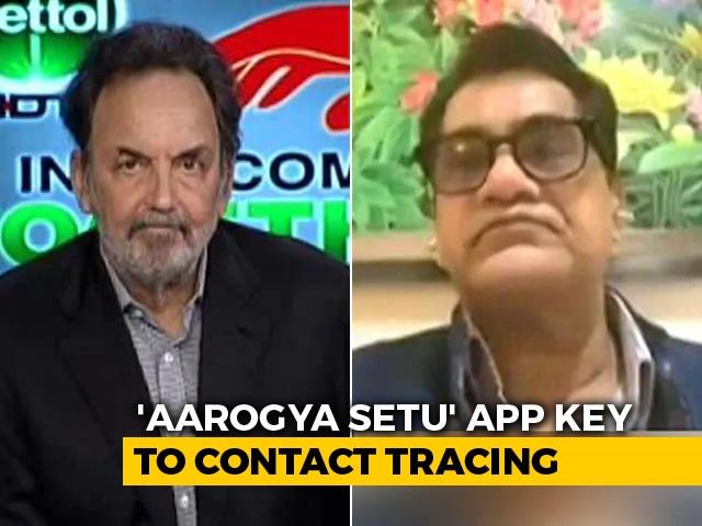 Video : Aarogya Setu Mobile App Can Help In Slowing Down The Transmission: Amitabh Kant
