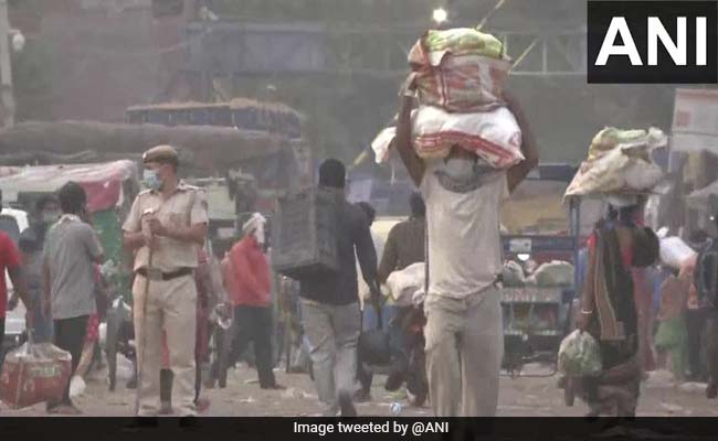 Delhi's Azadpur Mandi Among Other Markets Closed In Support Of Bharat Bandh