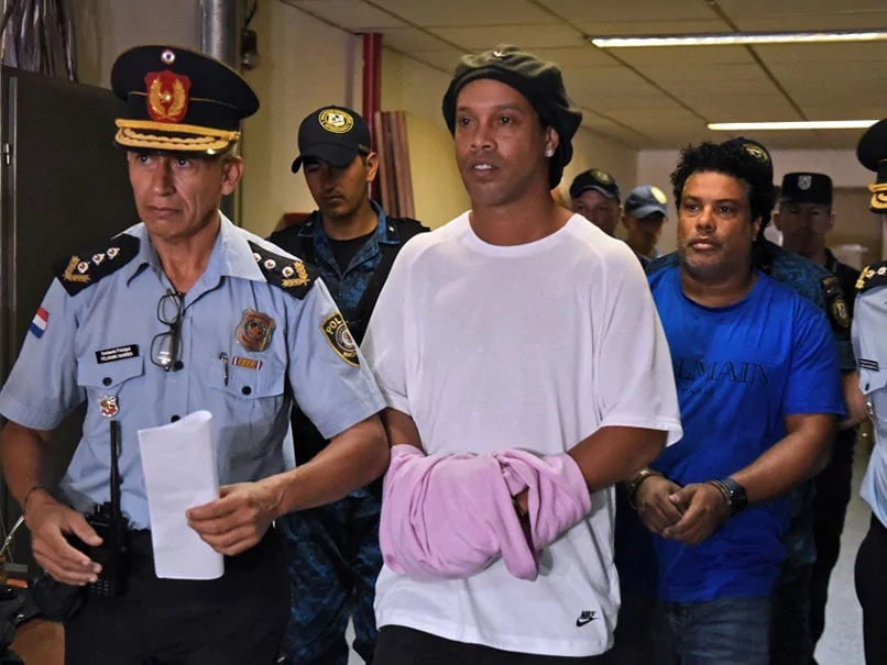 "Ronaldinho Says Arrest And Confinement Has Been ""Hard"""