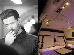 Actor Hrithik Roshan Gets A Customised Mercedes-Benz V-Class From DC Design
