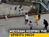 Video : Watch: In Mizoram, Gospel Songs, Dance On Balconies Amid Lockdown