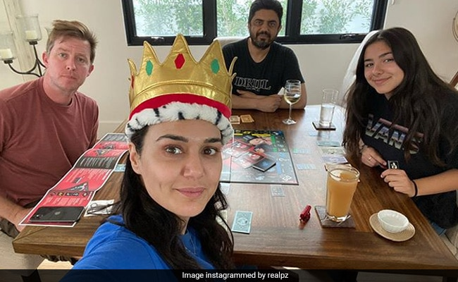 'It's Good To Be Queen': Preity Zinta Shares Her Victory Moment After Playing Monopoly With Family